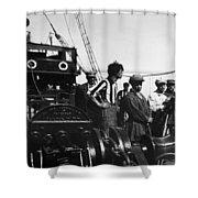 Sergei Eisenstein (1898-1948) Shower Curtain