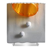 Seroquell Shower Curtain