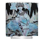 Serpent Cave Shower Curtain