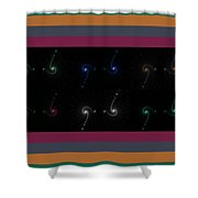 Serpentine Shower Curtain