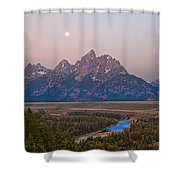 Setting Moon Shower Curtain