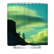 Settling Shower Curtain