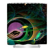 Seven Of Eight Shower Curtain