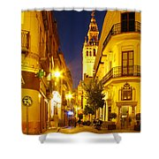 Sevilla At Night Shower Curtain