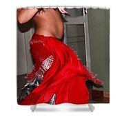 Sexy Belly Dancer Shower Curtain