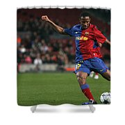 Seydou Keita Stroke Shower Curtain