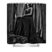 Shabby Genteel Shower Curtain