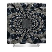 Shades Of Grey Shower Curtain