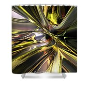 Shadow Abstract Serenity T Fx Shower Curtain