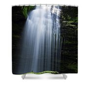 Shadow Falls Shower Curtain