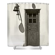 Shadow Games Shower Curtain
