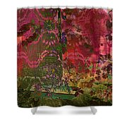 Shadow Of Hope Shower Curtain