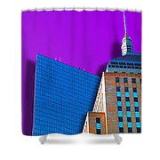 Shadow Of The City Shower Curtain