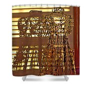 Shadows Of Glamour Shower Curtain
