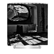 Shadows Of Roads Ahead Shower Curtain