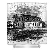 Shaker Church, 1875 Shower Curtain