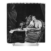 Shakespeare: Julius Caesar Shower Curtain