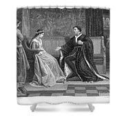 Shakespeare: King Henry V Shower Curtain