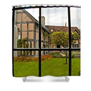 Shakespeares Home Shower Curtain