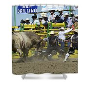 Rodeo Shaking It Up Shower Curtain