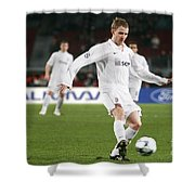 Shaktar Player Shower Curtain