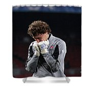 Shaktars Goalkeeper Shower Curtain