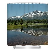 Shallow Water Reflections Shower Curtain