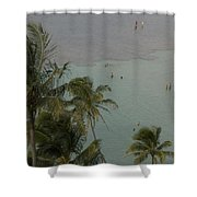 Shallow Waters At The North Shore Shower Curtain