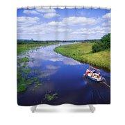 Shannon-erne Waterway Shower Curtain