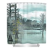 Shaw Mississippi Shower Curtain