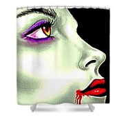 She Gave Her Lover The Gift Of Eternal Life 2 Shower Curtain
