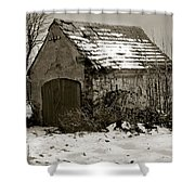 Shed Shower Curtain