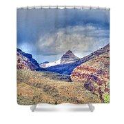 Sheep Rock Mountain Shower Curtain