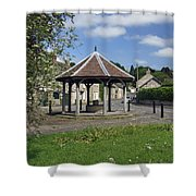 Sheepwash Well - Ashford-in-the-water Shower Curtain
