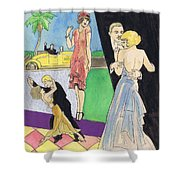 Sheet Music 1 Shower Curtain