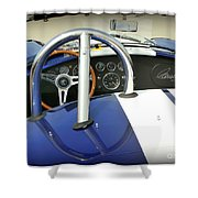 Shelby Signed Cobra Shower Curtain by Karyn Robinson