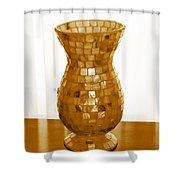Shell Vase Shower Curtain