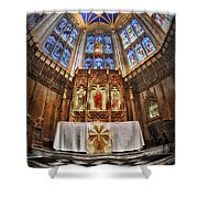 Shelter For Thy Soul Shower Curtain