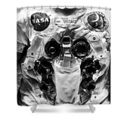 Shepard And Apollo 14 Shower Curtain