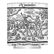 Shepherd, 1597 Shower Curtain