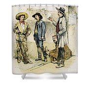 Sheriff John Behan, C1880s Shower Curtain