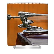 She's Fast Shower Curtain