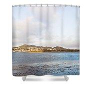 Shhhh - Sea Otters Sleeping Shower Curtain