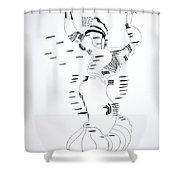 Shikat Dance - Morocco Shower Curtain