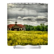 Shiloh School Shower Curtain