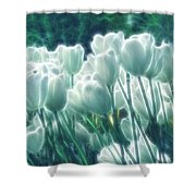 Shimmering Tulips Shower Curtain