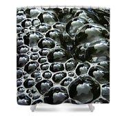 Shiney Bubbles Shower Curtain