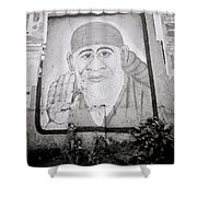 Shirdi Sai Baba In Bombay Shower Curtain