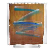 Shock Tide Two Shower Curtain