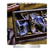Shoe - The Shoe Cobblers Box Shower Curtain